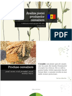Analiza Pieței Produselor Cerealiere