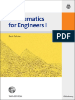 Mathematics for Engineers I Basic Calculus