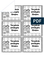 tarjetas perforables
