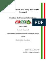Gestion y Direccion de Proyectos de Software