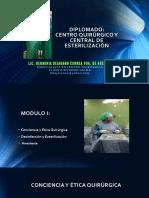 Modulo i Conciencia y Etica Qx Desinfeccion y Esterilizacion Anestesia PDF