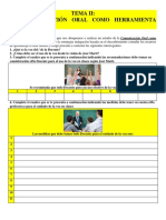 TEMA II. LA COMUNICACIÓN ORAL COMO HERRAMIENTA DOCENTE..docx