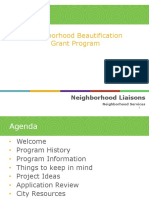 Aurora Neighborhood Beautification Grants 2019 Presentation