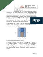 Heat Transfer and Mass Sheets Final