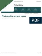 Photographie, arme de classe, par François Albera (Les blogs du Diplo, 15 janvier 2019)