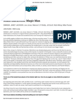 Adam Blackstone- Magic Man - BassPlayer.com
