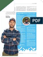La entrevista de Chaleco López en El Gráfico Chile