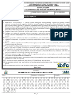 Prova Ibfc 2017