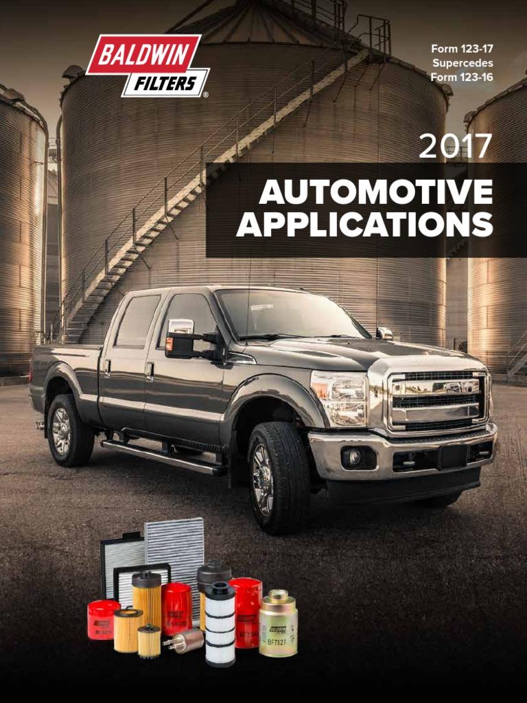 Ajustes de Toyota Fiat Mann Filtro De Combustible Servicio De Motor de elemento de papel