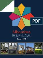 Alhambra General Plan - January 2019