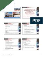 150114 P6V8.4 Spanish PowerPoint Presentation Sample Slide Show 6 Slides Per Page