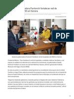 13-12-2018 Gestiona gobernadora Pavlovich fortalecer red de hospitales del IMSS en Sonora - Opinión Sonora