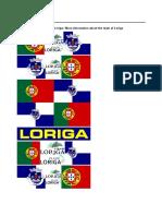 A História de Loriga – History of Loriga _ LORIGA – PORTUGAL