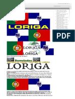 A História Concisa Da Vila de Loriga Pelo Historiador António Conde_Concise History of the Town of Loriga by the Historian António Conde
