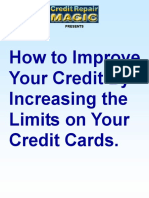 Increase Credit Limits