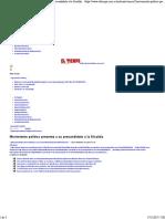 Diario Tiempo Precandidato Alcaldia