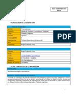 Pneumatologia - Guia Docente Univ. Comillas e000001338