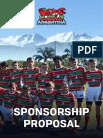 Sponsorship Proposal 17-12-2018