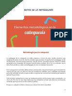 Elementos de La Metodología CATEQUESIS