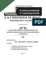 Metodos de Explotacion Subterraneo Informe 006