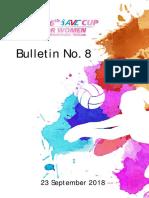 Bulletin AVCW2018 No8