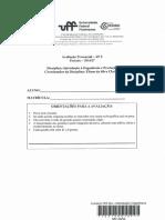 AP2 2016.2 Introdução à Engenharia de Produção