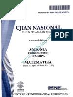Soal UN 2018 IPA Paket C2