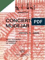 Concierto Mudejar.- Anton Garcia Abril.- Guitarra y Orquesta de Cuerdas