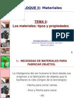 0910TI1 T5 8L Materiales Tipos y des