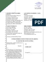 Pima County v. Purdue Parma Et Al. - Complaint (Filed 1.17.19)[1]