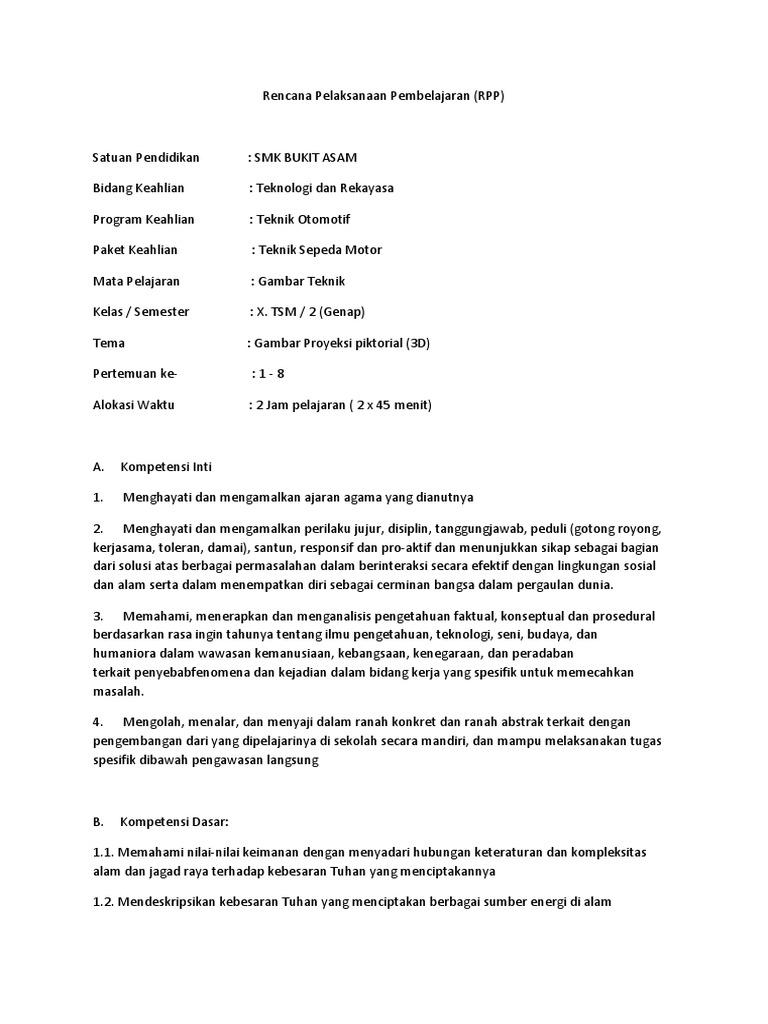 Rencana Pelaksanaan Pembelajarancx