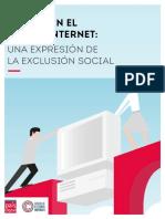 Brecha en el uso de Internet - una expresión de la exclusion social - Estudio completo web.pdf