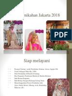 Paket Pernikahan Jakarta 2018