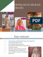 Paket Pernikahan Murah Di Tangerang