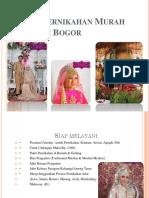 Paket Pernikahan Murah Wilayah Bogor
