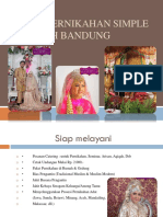 Paket Pernikahan Simple Wilayah Bandung