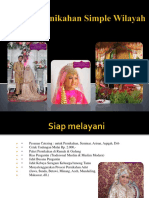 Paket Pernikahan Simple Wilayah Jakarta