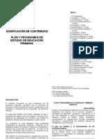Dosificacion Contenidos Programas 1o-Hasta-6to