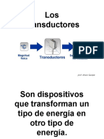 Los Transductores en audio