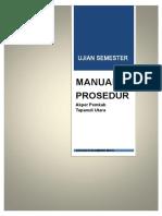 Manual Prosedur 004 Uas