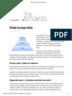 Diseña Tu Propia Dieta _ Entrenamiento