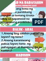 4. Thematic Teaching
