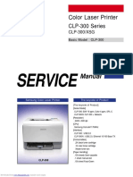 Samsung CLP 300 - Color Laser Printer Service Manual