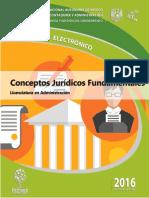Apunte - Conceptos Juridicos Fundamentales (2016)