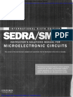 Microelectronic Circuits International 6th Edition Sadra Solutions Manual