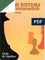 Nimzowitch Mi Sistema Club de Ajedrez