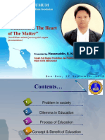 Public Lecture Education is the Heart of the Matter STIKES IST BUTON