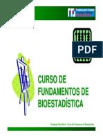 Curso de Fundamentos de Bioestadística