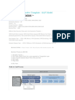 Automotive Template Bosch- SAP Model
