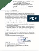 Penetapan SK Konversi Akreditasi